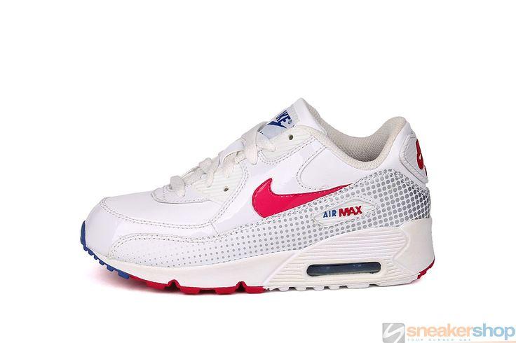 Nike Air Max 2007 (PS) (White/Cherry-Metallic Silver)   345018-106