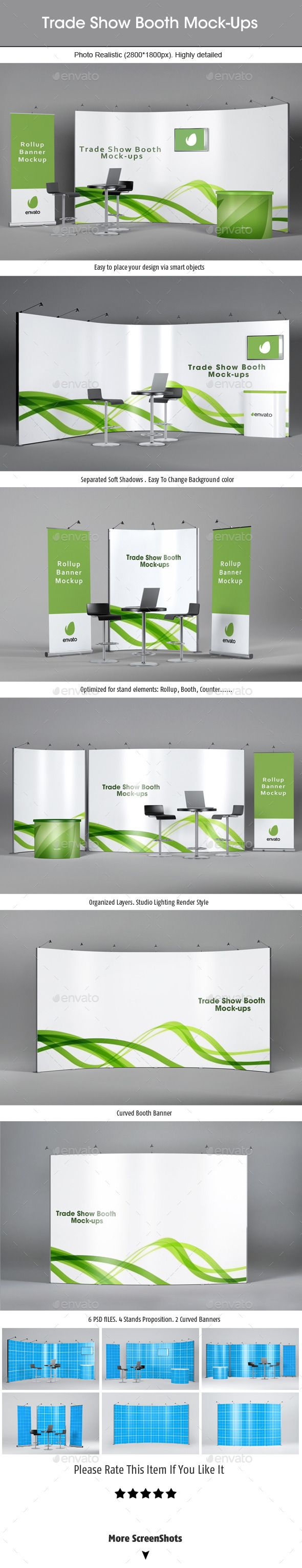 Trade Show Booth Mockups | Download: http://graphicriver.net/item/trade-show-booth-mockups-v2/9032999?ref=ksioks