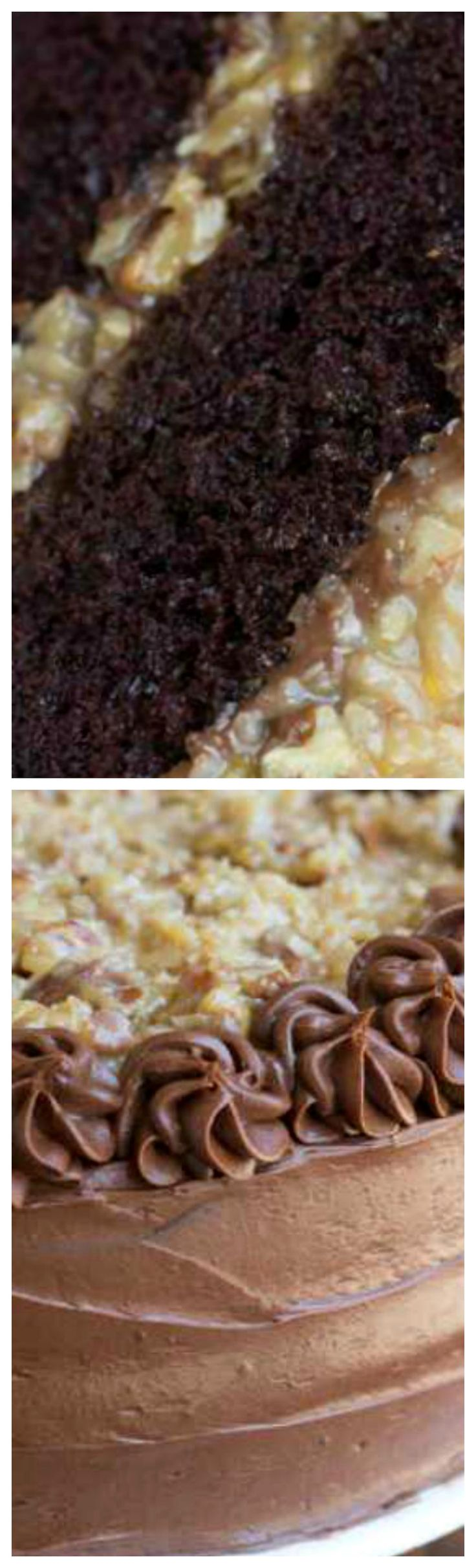 Best 25+ Homemade german chocolate cake ideas on Pinterest ...