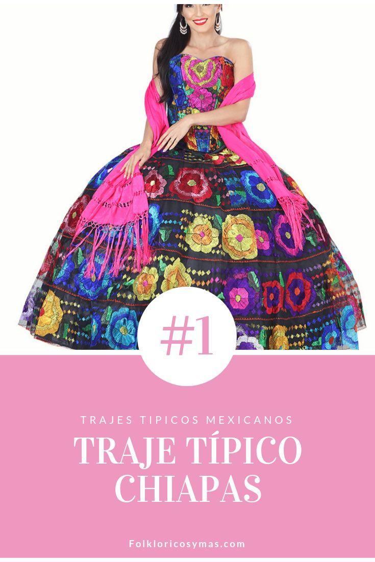 c0ea378cf7 Hermoso Vestido Chiapas Con Corset Para Boda o Quinceañera