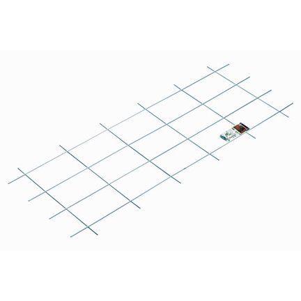 OBI Fém futtatórács, 150 cm x 60 cm, fehér
