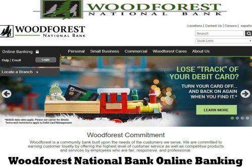 Woodforest National Bank Online Banking   Online Bank Login - Tecteem