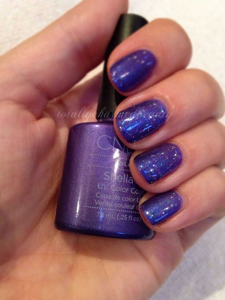 The 25+ Best Purple Shellac Nails Ideas On Pinterest