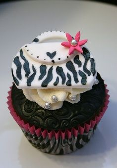 Cupcake Zebre