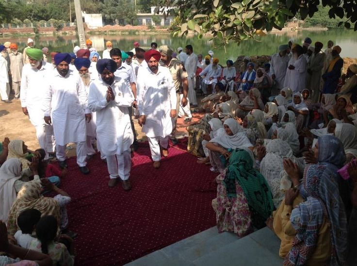 Sewa Kednras being inaugurated in Nathan circle by senior leader Darshan Singh kotfatta.  #progressivepunjab #akalidal