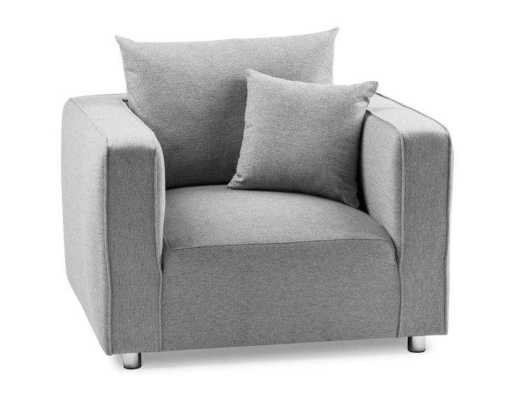 JAMES - Armchair - Grey