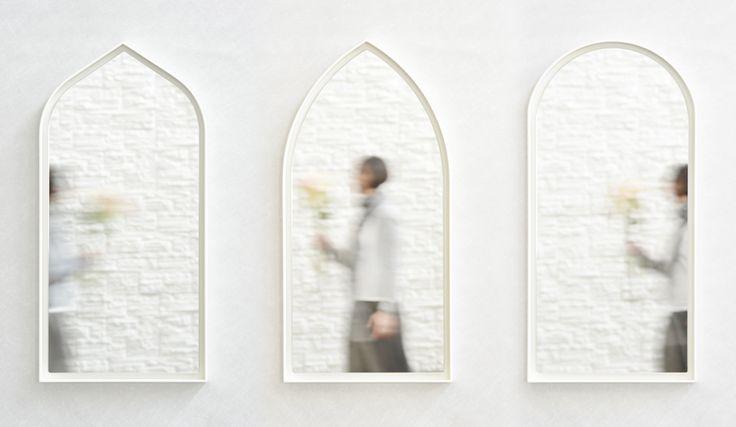 Panorami Mirror White by Zaven- SecondoMe #designgallery #Rome