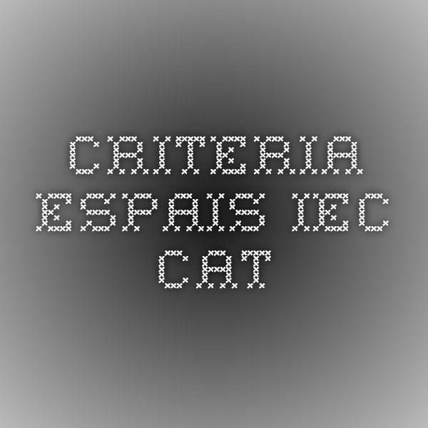 criteria.espais.iec.cat
