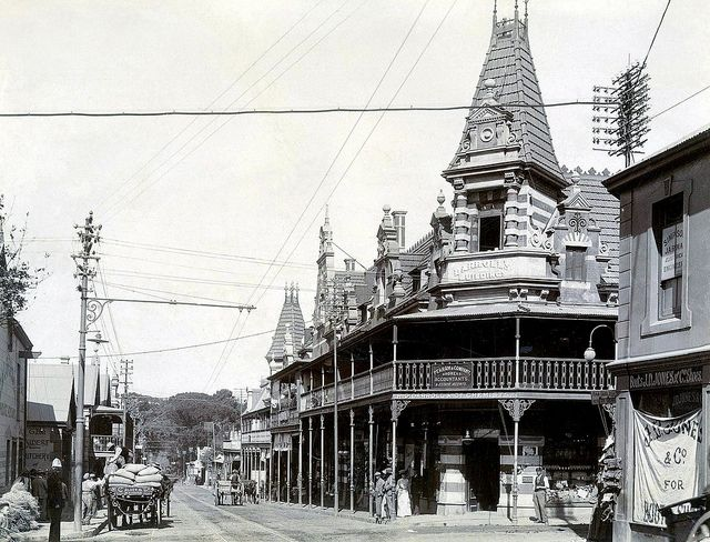 Main Road, Wynberg 1900