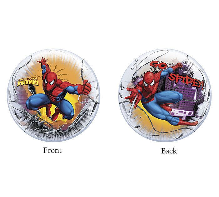 FAST SHIP Spiderman Birthday Bubble Balloons, Spiderman Party Balloons, Spiderman Party Supplies, Marvel Super Heroes Party Decorations by PartysuppliesDesign on Etsy https://www.etsy.com/listing/481736325/fast-ship-spiderman-birthday-bubble