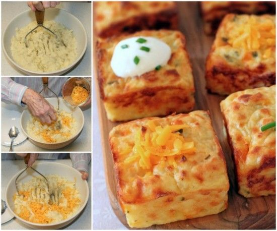 These Cheesy Mashed Potato Puffs are a delicious way to use leftover mash and so quick and easy.