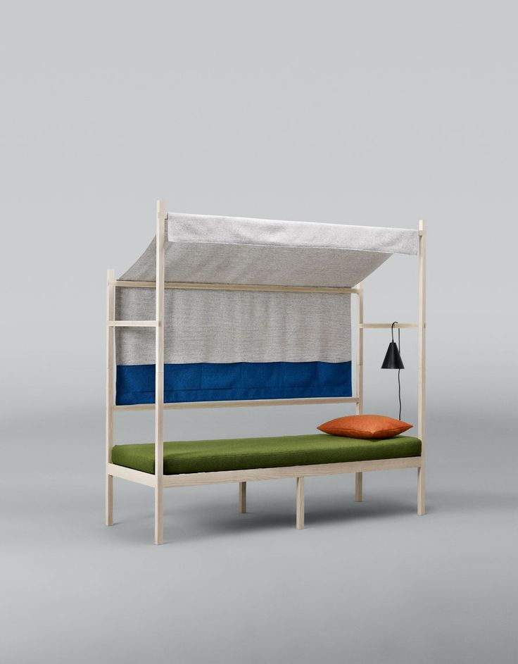 Atelier Takagi – Basecamp. Born in Tokyo and raised in New England, Jonah Takagi graduated from the Rhode Island School of Design in 2002. Basecamp is inspired by vintage camping gear. A room within a room, it is designed to provide a moment of respite from the stress of everyday.