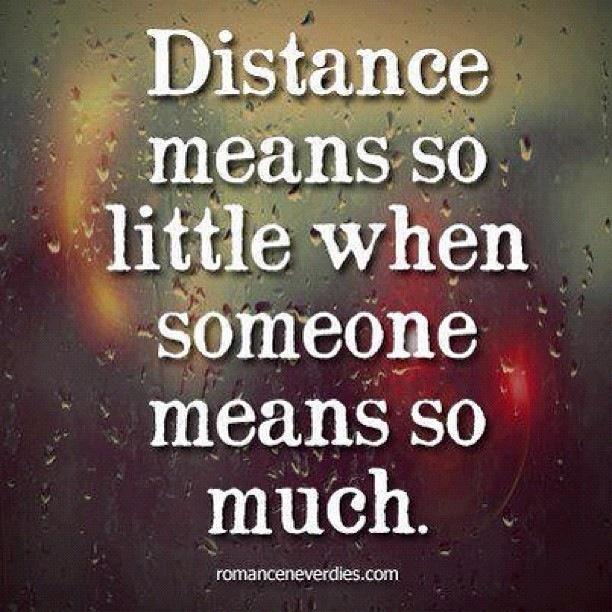 Love knows no distance | Jessica Hua | Pinterest