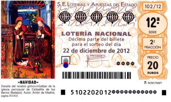 Dos siglos de números locos en la Lotería de Navidad