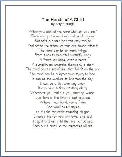 Calendar Ideas For Grandparents : Best handprint poem ideas on pinterest great grandma