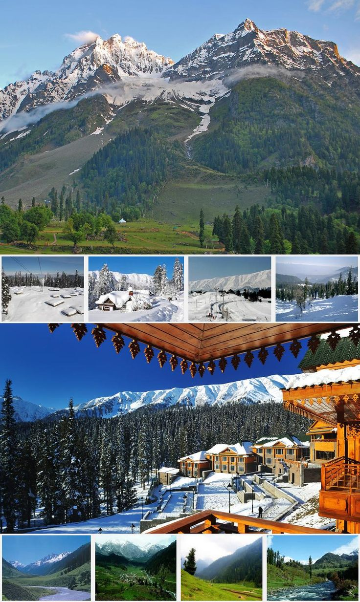 Kashmir Tour Package #kashmirtourpackage #kashmirtourpackage6n7d #kashmirtourpackagefromdelhi http://allindiatourpackages.in/kashmir-tour-package-6n7d/