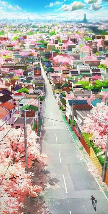 beautiful art  Source : Shigatsu episode 3