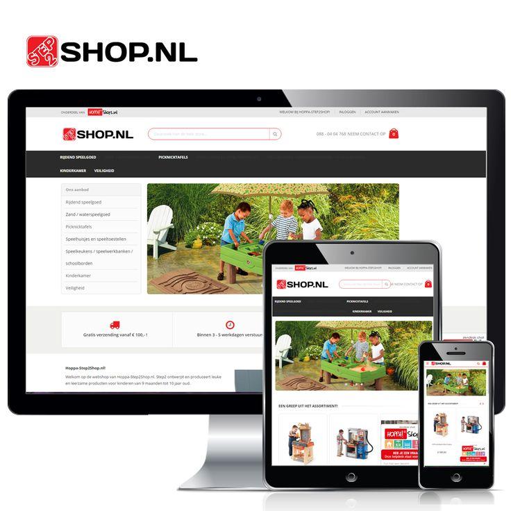 www.hoppa-step2shop.nl – Op onze vernieuwde webshop vind je het leukste speelgoed voor kinderen van 9 maand tot 10 jaar van het merk Step2. Alle producten zijn eenvoudig online bij ons te bestellen tegen aantrekkelijke prijzen. Neem snel een kijkje op onze webshop!  Volg Hoppashops ook op: Blogspot - http://hoppashops-nl.blogspot.nl/