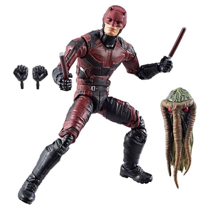 Marvel Knights Legends Series Daredevil Action Figure 6