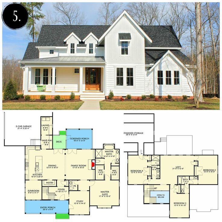 12 modern farmhouse floor plans farmhouse floor plans