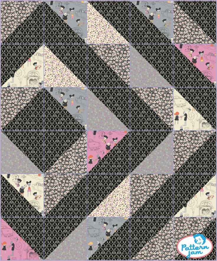 I love to design! Check out what I just created using @PatternJam