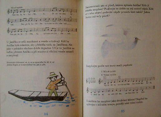 Hudební výchova pro třetí ročník základní školy, Jan Budík, Ilustrátor: Janeček,Ota