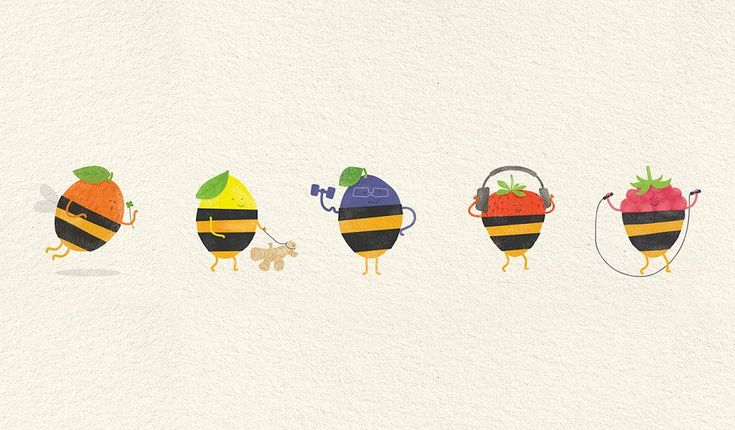Honey + Berries on Packaging of the World - Creative Package Design Gallery