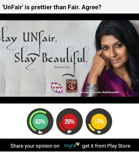 Be 'unfair'. Mynit loves 'real' azaadi. #Azaadi4Me Get mynit on Play Store and speak ur mind http://ow.ly/PjD59