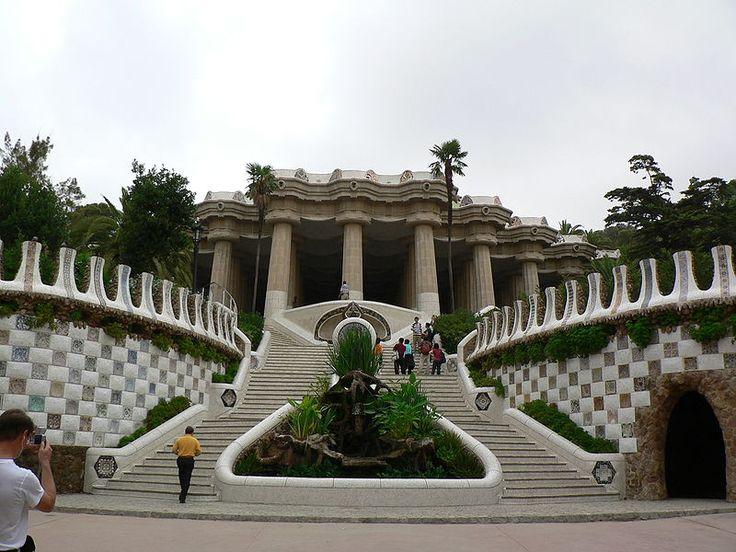 TOUCH esta imagen: Park Güell, Gaudí by Maite Fresnillo