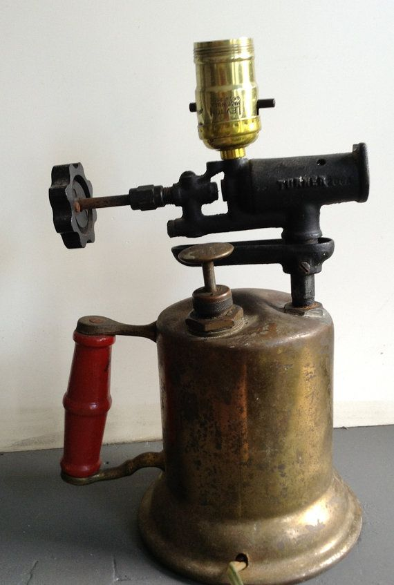 Hey, I found this really awesome Etsy listing at https://www.etsy.com/listing/209157293/antique-soldering-torch-repurposed-table