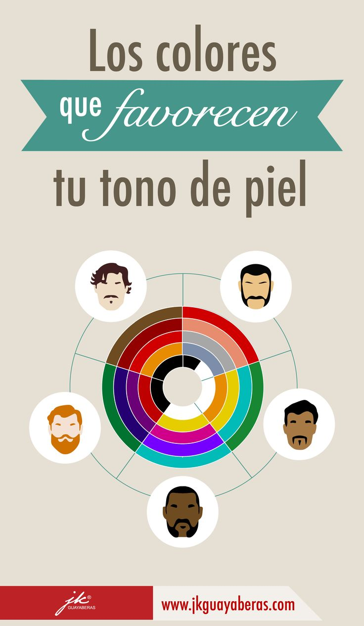 Flattering colors for your skin tone | Colores que favorecen tu tono de piel