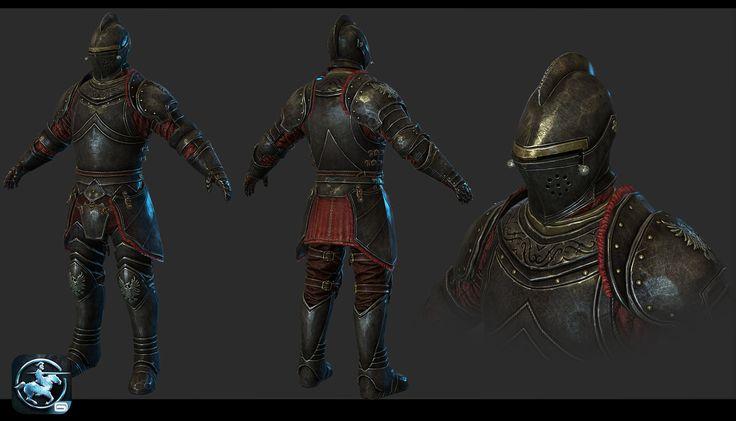 Knight for Rival Knights , Johnny Xiao  on ArtStation at http://www.artstation.com/artwork/knight-for-rival-knights