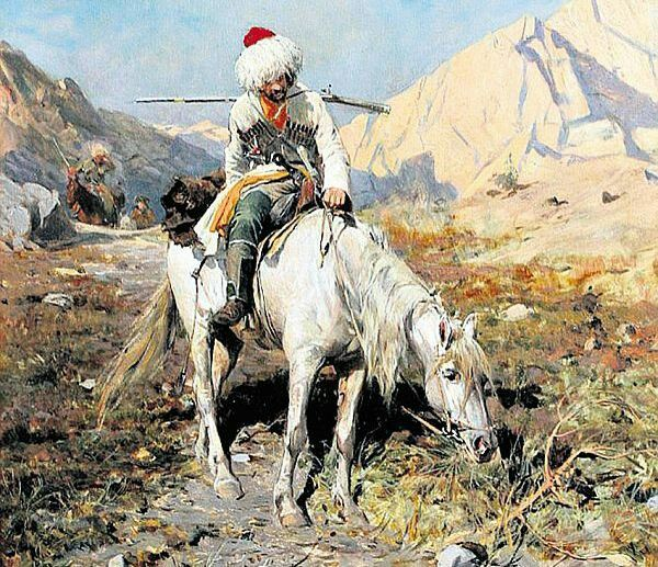 Circassian Cherkess Caucasus Adyghe