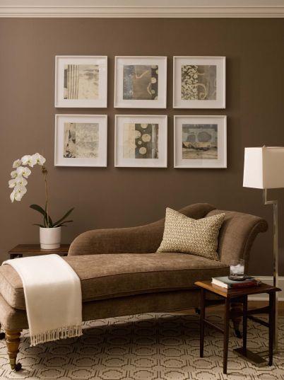 Brown Living Room Colors
