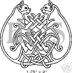 cat celtic coloring pages - photo#8