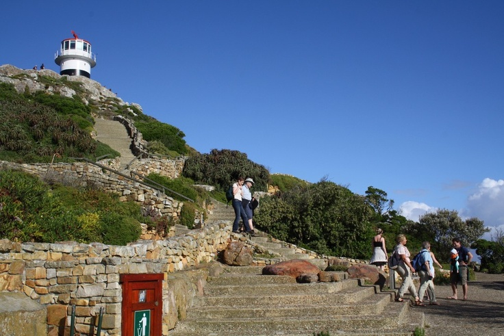 The walk to the lighthouse at Cape Point #capetown #southafrica