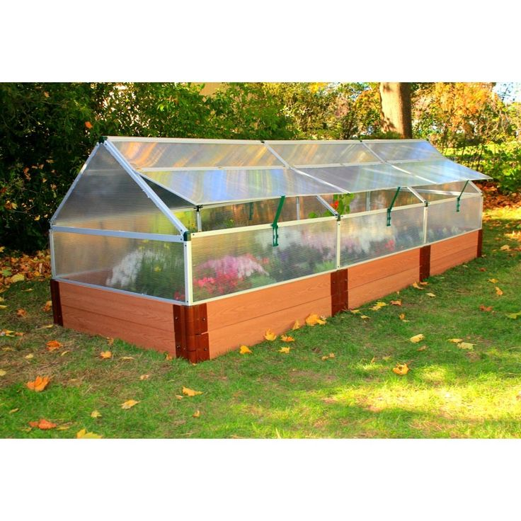 4 39 X 12 39 Polycarbonate Greenhouse With 12 Tall Composite