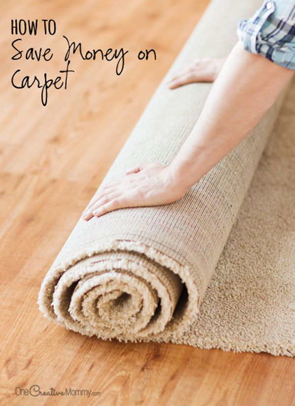 Getting new carpet? Before you buy, check out these money-saving tips so you won't break the bank! {OneCreativeMommy.com} How to Save Money on Carpet   Frugal Tips!