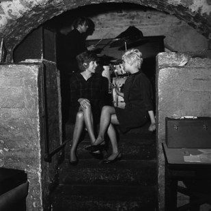 Cilla Black at the Cavern Club, Liverpool 1963. Photo by John Pratt.