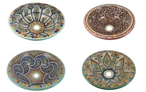 Marokkanische Waschbecken