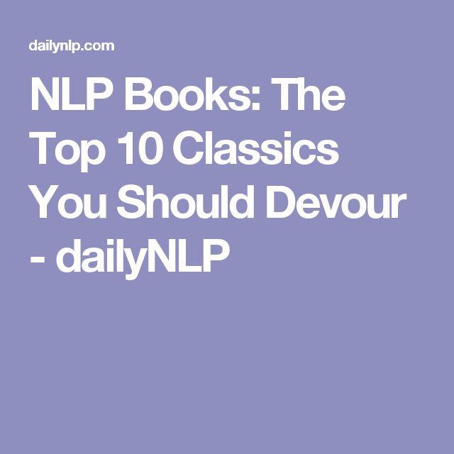 NLP Books: The Top 10 Classics You Should Devour - dailyNLP