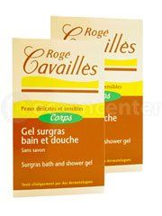Rogé Cavaillès Superfatted Bath And Shower Gel 2X300Ml by Rogé Cavaillès.  - Parfumerie et parapharmacie - Rogé Cavaillès