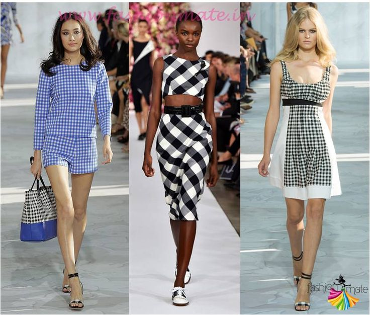 Top fashion trends 2015 - Gingham check print trend