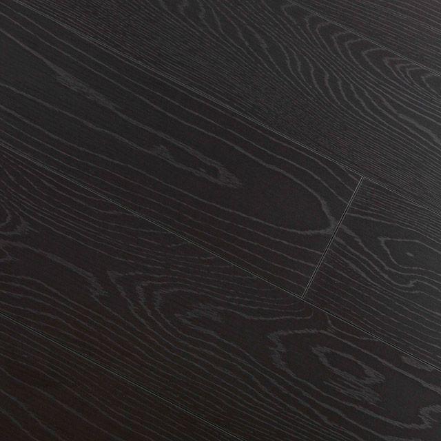 Revêtement de sol stratifié décor chêne noir Assoluto - CASTORAMA
