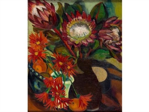 Proteas By Irma Stern 1924