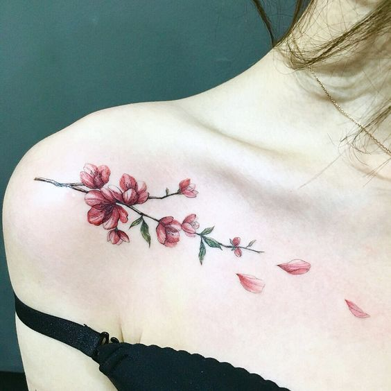 30 Sexy And Charming Shoulder Tattoo Designs For Women – Page 3 of 30