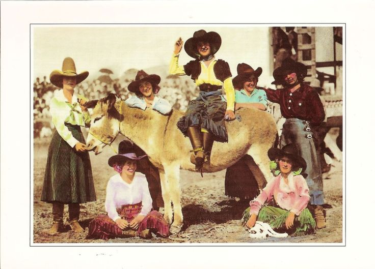 1920's cowgirl images | cowgirls and a burro doubleday photo bronc riders and good ones 1920 s ...