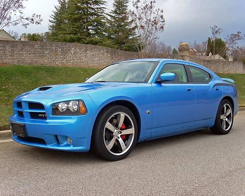 2008 Dodge Charger SRT8 B5 Blue Super Bee 1/1000
