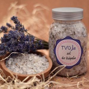 Sůl do koupele Relaxační Tvoja kozmetika