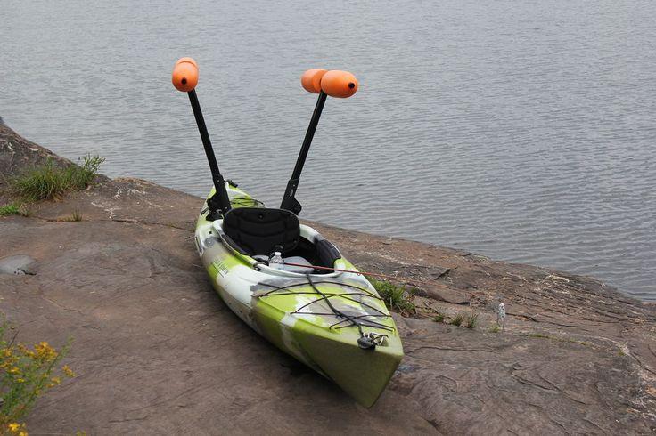 9 best canoe stabilizer images on pinterest canoe for Beginner fishing kayak